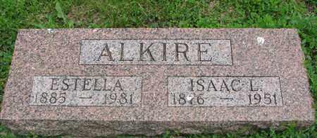 ALKIRE, ISAAC L. - Stanton County, Nebraska | ISAAC L. ALKIRE - Nebraska Gravestone Photos