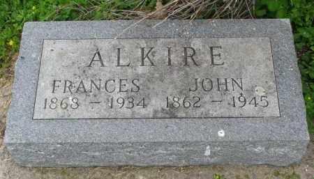 ALKIRE, JOHN - Stanton County, Nebraska | JOHN ALKIRE - Nebraska Gravestone Photos