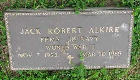 ALKIRE, JACK ROBERT - Stanton County, Nebraska | JACK ROBERT ALKIRE - Nebraska Gravestone Photos