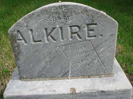 ALKIRE, VIVIAN - Stanton County, Nebraska | VIVIAN ALKIRE - Nebraska Gravestone Photos