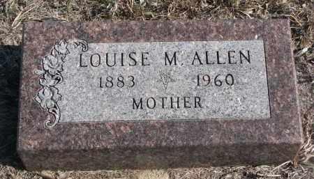 ALLEN, LOUISE M. - Stanton County, Nebraska | LOUISE M. ALLEN - Nebraska Gravestone Photos