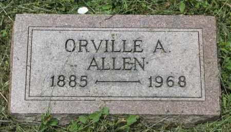 ALLEN, ORVILLE A. - Stanton County, Nebraska | ORVILLE A. ALLEN - Nebraska Gravestone Photos