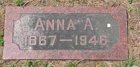 ANDERS, ANNA A. - Stanton County, Nebraska | ANNA A. ANDERS - Nebraska Gravestone Photos
