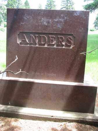 ANDERS, FAMILY STONE - Stanton County, Nebraska | FAMILY STONE ANDERS - Nebraska Gravestone Photos