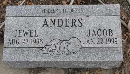 ANDERS, JEWEL - Stanton County, Nebraska   JEWEL ANDERS - Nebraska Gravestone Photos