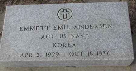 ANDERSEN, EMMETT EMIL - Stanton County, Nebraska | EMMETT EMIL ANDERSEN - Nebraska Gravestone Photos