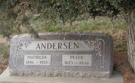 ANDERSEN, MATHILDA - Stanton County, Nebraska | MATHILDA ANDERSEN - Nebraska Gravestone Photos