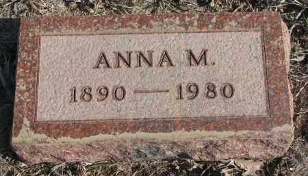 ANDERSON, ANNA M. - Stanton County, Nebraska | ANNA M. ANDERSON - Nebraska Gravestone Photos