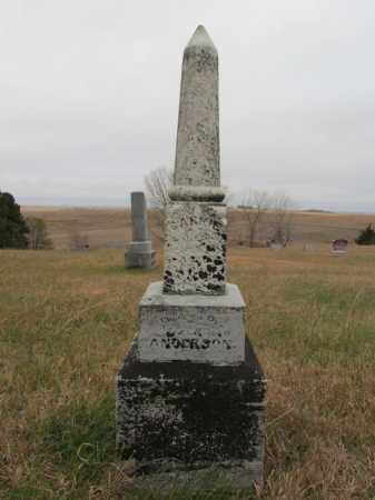 ANDERSON, CARRIE - Stanton County, Nebraska | CARRIE ANDERSON - Nebraska Gravestone Photos