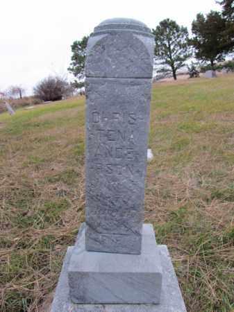 ANDERSON, CHRISTENA - Stanton County, Nebraska | CHRISTENA ANDERSON - Nebraska Gravestone Photos
