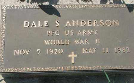 ANDERSON, DALE S. - Stanton County, Nebraska | DALE S. ANDERSON - Nebraska Gravestone Photos