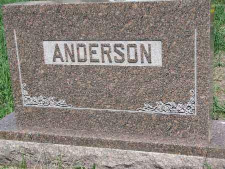 ANDERSON, FAMILY STONE - Stanton County, Nebraska | FAMILY STONE ANDERSON - Nebraska Gravestone Photos