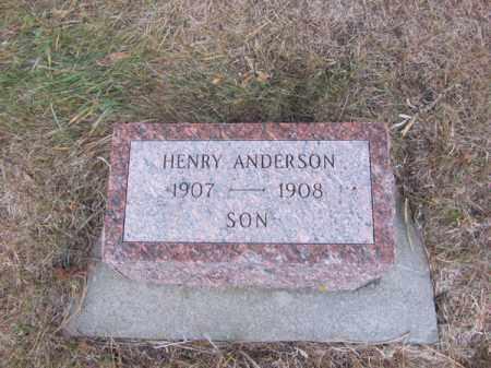 ANDERSON, HENRY - Stanton County, Nebraska | HENRY ANDERSON - Nebraska Gravestone Photos