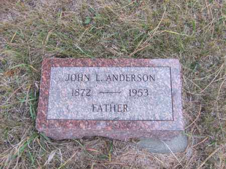 ANDERSON, JOHN L. - Stanton County, Nebraska | JOHN L. ANDERSON - Nebraska Gravestone Photos