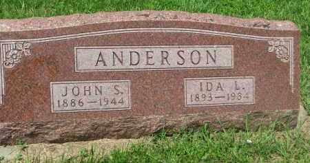 ANDERSON, IDA L. - Stanton County, Nebraska | IDA L. ANDERSON - Nebraska Gravestone Photos