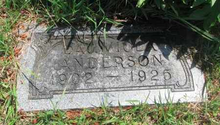 ANDERSON, VIOLA - Stanton County, Nebraska | VIOLA ANDERSON - Nebraska Gravestone Photos