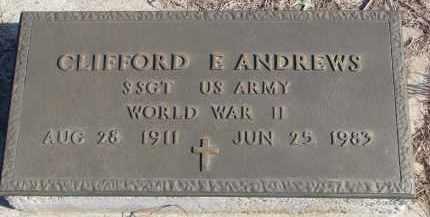 ANDREWS, CLIFFORD E. - Stanton County, Nebraska   CLIFFORD E. ANDREWS - Nebraska Gravestone Photos