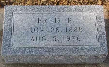 ARMBRUST, FRED P. - Stanton County, Nebraska   FRED P. ARMBRUST - Nebraska Gravestone Photos