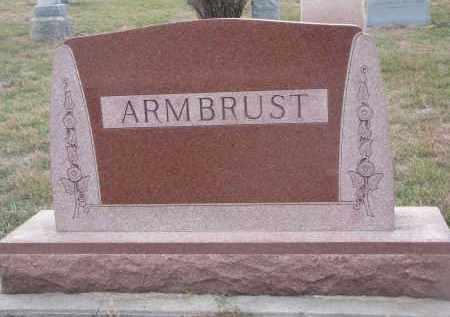 ARMBRUST, PLOT STONE - Stanton County, Nebraska | PLOT STONE ARMBRUST - Nebraska Gravestone Photos