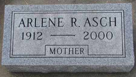 ASCH, ARLENE R. - Stanton County, Nebraska | ARLENE R. ASCH - Nebraska Gravestone Photos
