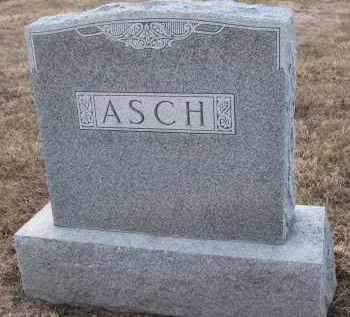 ASCH, FAMILY STONE - Stanton County, Nebraska | FAMILY STONE ASCH - Nebraska Gravestone Photos