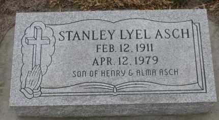 ASCH, STANLEY LYEL - Stanton County, Nebraska | STANLEY LYEL ASCH - Nebraska Gravestone Photos