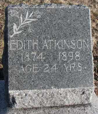 ATKINSON, EDITH - Stanton County, Nebraska | EDITH ATKINSON - Nebraska Gravestone Photos