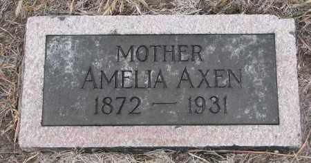 AXEN, AMELIA - Stanton County, Nebraska | AMELIA AXEN - Nebraska Gravestone Photos