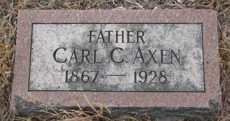 AXEN, CARL C. - Stanton County, Nebraska | CARL C. AXEN - Nebraska Gravestone Photos