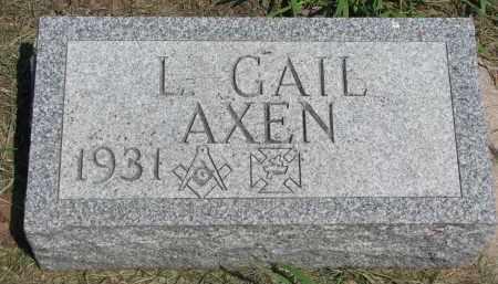 AXEN, L. GAIL - Stanton County, Nebraska   L. GAIL AXEN - Nebraska Gravestone Photos