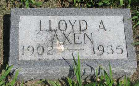 AXEN, LLOYD A. - Stanton County, Nebraska | LLOYD A. AXEN - Nebraska Gravestone Photos