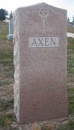 AXEN, PLOT STONE (AMELIA & CARL) - Stanton County, Nebraska | PLOT STONE (AMELIA & CARL) AXEN - Nebraska Gravestone Photos