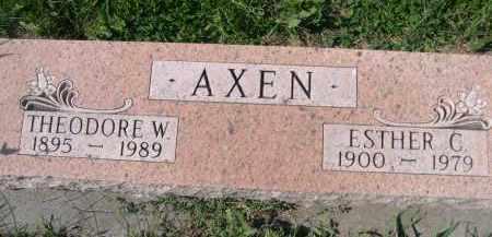AXEN, ESTHER C. - Stanton County, Nebraska | ESTHER C. AXEN - Nebraska Gravestone Photos