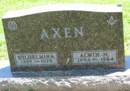 AXEN, ALWIN N. - Stanton County, Nebraska | ALWIN N. AXEN - Nebraska Gravestone Photos