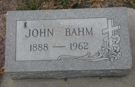 BAHM, JOHN - Stanton County, Nebraska | JOHN BAHM - Nebraska Gravestone Photos