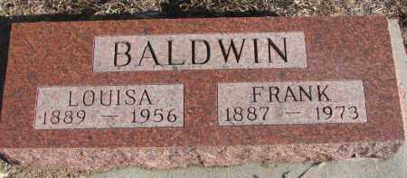 BALDWIN, LOUISA - Stanton County, Nebraska | LOUISA BALDWIN - Nebraska Gravestone Photos