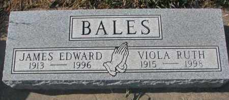 BALES, VIOLA RUTH - Stanton County, Nebraska | VIOLA RUTH BALES - Nebraska Gravestone Photos