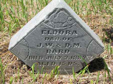 BARD, ELDORA - Stanton County, Nebraska   ELDORA BARD - Nebraska Gravestone Photos