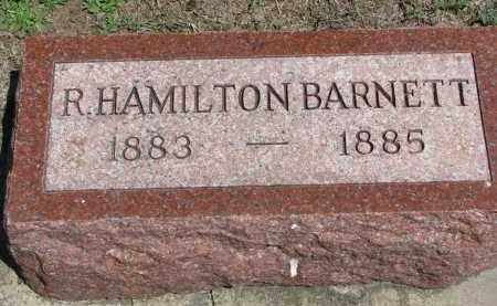 BARNETT, R. HAMILTON - Stanton County, Nebraska | R. HAMILTON BARNETT - Nebraska Gravestone Photos
