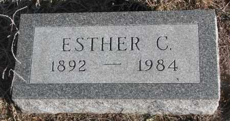 BARR, ESTHER C. - Stanton County, Nebraska | ESTHER C. BARR - Nebraska Gravestone Photos