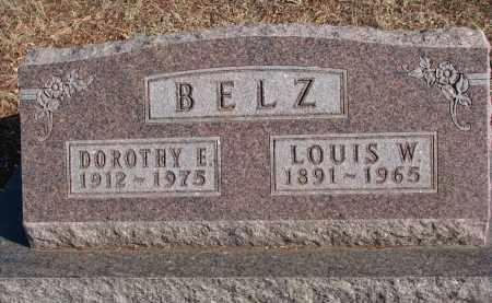 BELZ, LOUIS W. - Stanton County, Nebraska | LOUIS W. BELZ - Nebraska Gravestone Photos