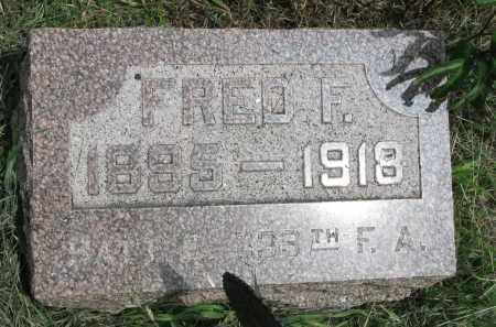 BELZ, FRED F. - Stanton County, Nebraska | FRED F. BELZ - Nebraska Gravestone Photos