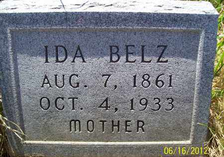 BELZ, IDA - Stanton County, Nebraska | IDA BELZ - Nebraska Gravestone Photos