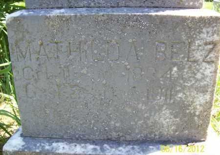 BELZ, MATHILDA - Stanton County, Nebraska | MATHILDA BELZ - Nebraska Gravestone Photos