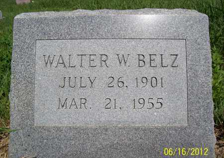 BELZ, WALTER W. - Stanton County, Nebraska | WALTER W. BELZ - Nebraska Gravestone Photos