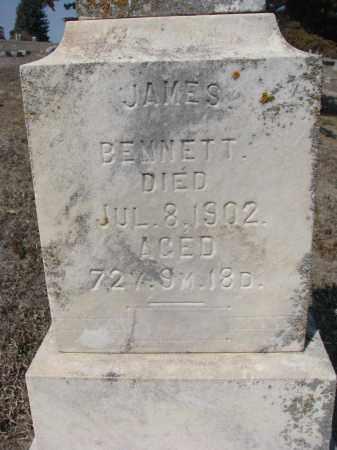 BENNETT, JAMES (CLOSEUP) - Stanton County, Nebraska | JAMES (CLOSEUP) BENNETT - Nebraska Gravestone Photos