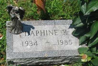 BENSON, DAPHINE K. - Stanton County, Nebraska | DAPHINE K. BENSON - Nebraska Gravestone Photos