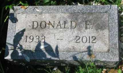 BENSON, DONALD E. - Stanton County, Nebraska | DONALD E. BENSON - Nebraska Gravestone Photos