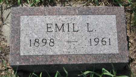BENSON, EMIL L. - Stanton County, Nebraska | EMIL L. BENSON - Nebraska Gravestone Photos
