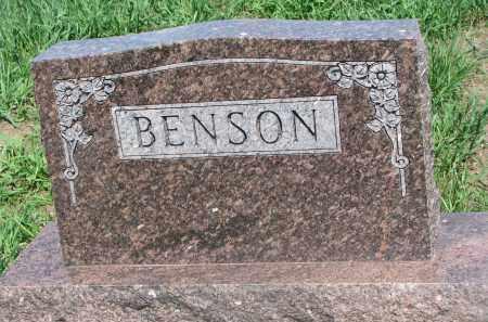 BENSON, FAMILY STONE - Stanton County, Nebraska | FAMILY STONE BENSON - Nebraska Gravestone Photos